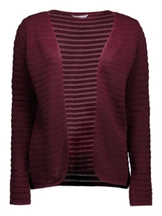 Only Vest onlCRYSTAL LS CARDIGAN NOOS 15116277 Windsor Wine