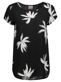 Vero Moda T-shirt VMBOCA SS BLOUSE MULTI PRINTED 10132802 Black/ Palm Print