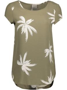 Vero Moda T-shirt VMBOCA SS BLOUSE MULTI PRINTED 10132802 Ivy Green/ Palm Print