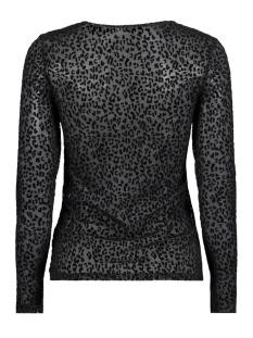 onlleo flock l/s top ess 15143380 only t-shirt black