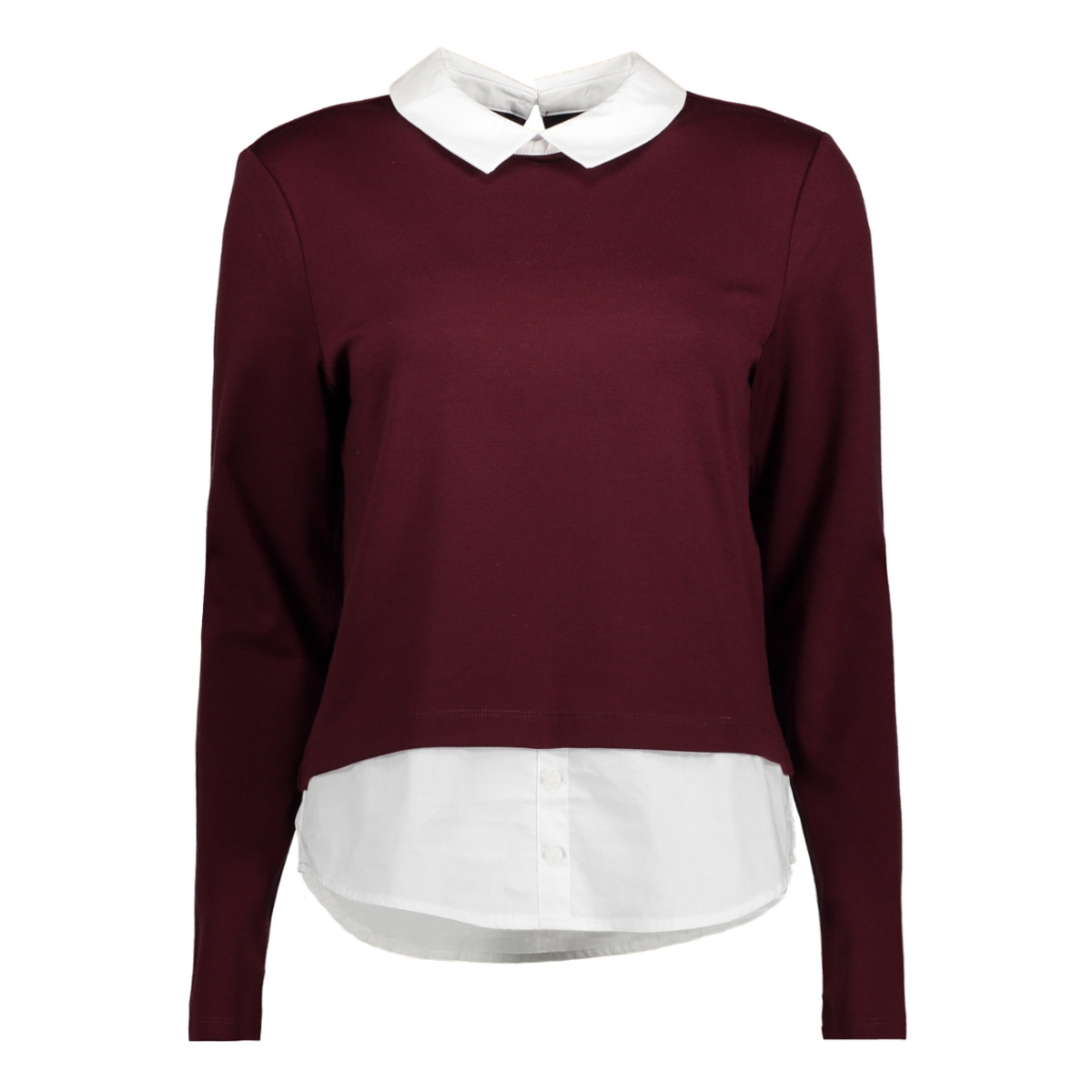 onlcally l/s collar top jrs 15141094 only trui port royale