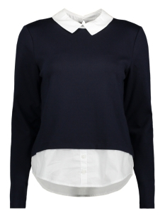 onlCALLY L/S COLLAR TOP JRS 15141094 Sky Captain