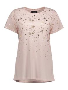 Object T-shirt OBJSPLASH GRADIENT S/S T-SHIRT A 23026158 Hushed Violet/ Gold Splash
