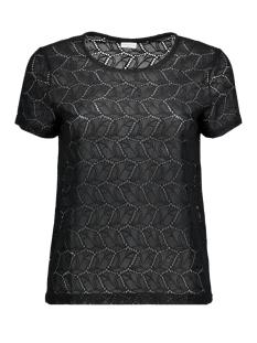 Jacqueline de Yong T-shirt JDYTAG S/S LACE TOP JRS RPT1 15151092 Black
