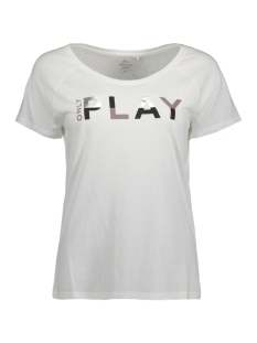 Only Play Sport shirt onpLINDA REGULAR SS TEE BOX 15134650 White
