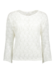 Jacqueline de Yong T-shirt JDYEVERLY L/S TOP JRS 15138529 Cloud Dancer