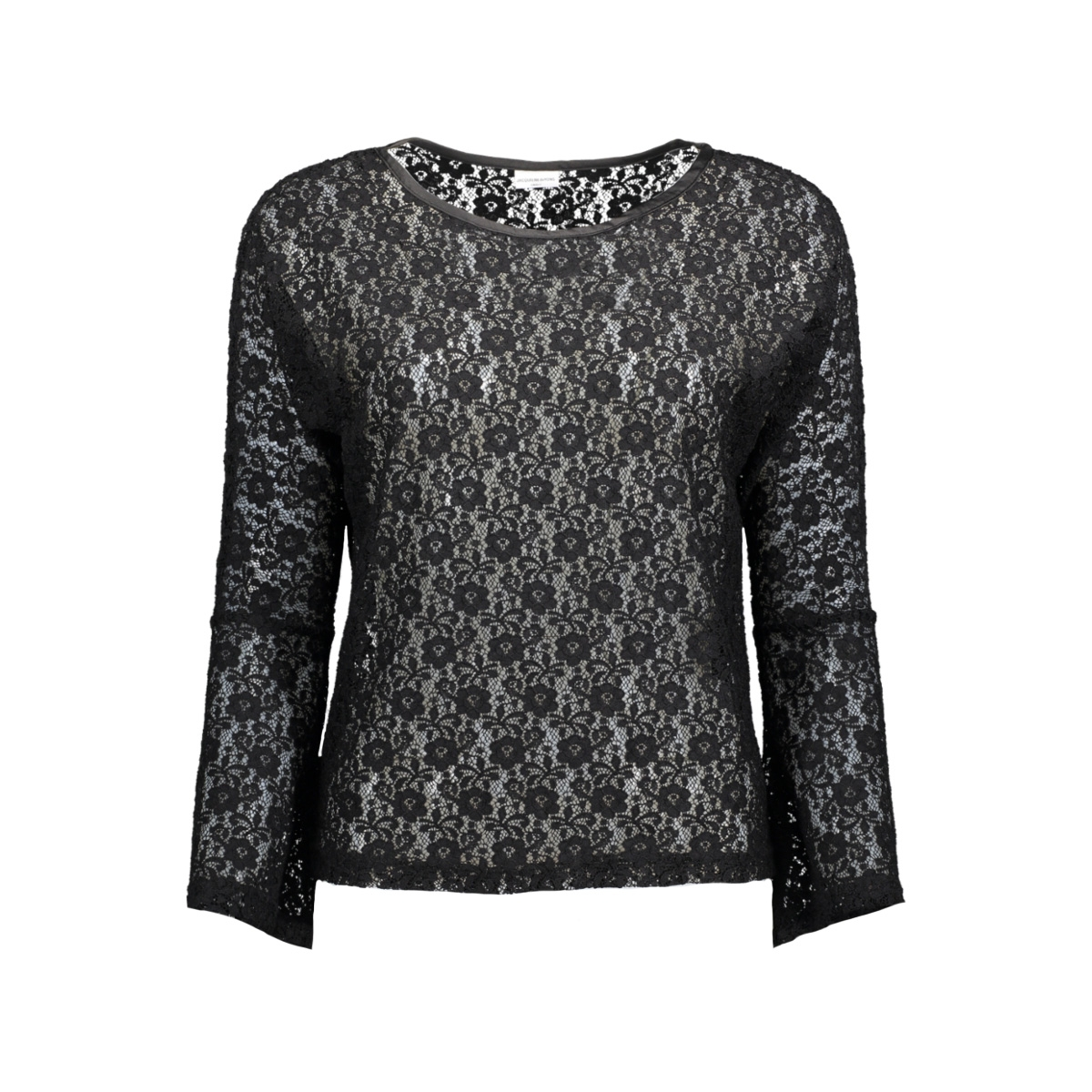jdyeverly l/s top jrs 15138529 jacqueline de yong t-shirt black