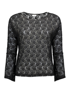 Jacqueline de Yong T-shirt JDYEVERLY L/S TOP JRS 15138529 Black