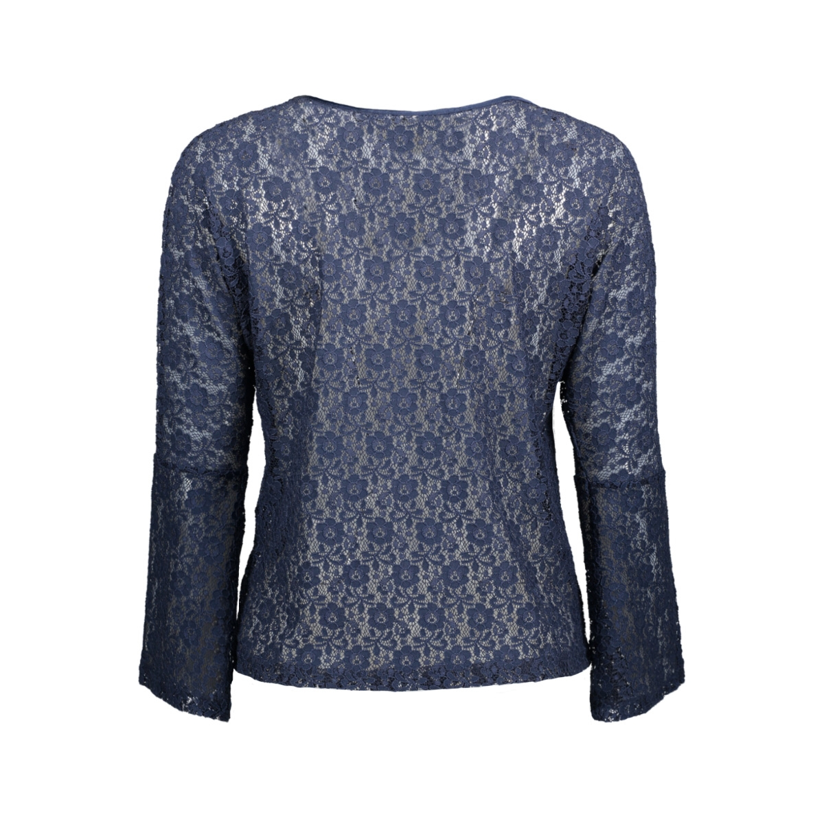 jdyeverly l/s top jrs 15138529 jacqueline de yong t-shirt black iris