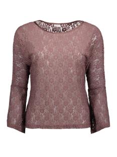 Jacqueline de Yong T-shirt JDYEVERLY L/S TOP JRS 15138529 Rose Taupe