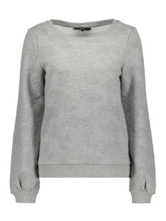 Vero Moda Sweater VMGALIA BELL LS TOP SWT 10186347 Light Grey Melange