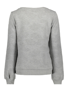 vmgalia bell ls top swt 10186347 vero moda sweater light grey melange