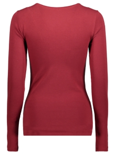 onllive love new ls o-neck top noos 15140196 only t-shirt sun-dried tomato