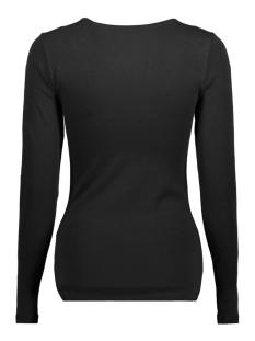 onllive love new ls o-neck top noos 15140196 only t-shirt black