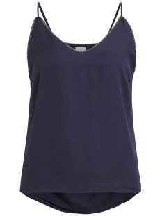Vila Top VIBELLO SINGLET 14044948 Dark Navy