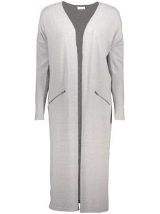 Noisy may Vest NMCITY L/S LONG ZIP CARDIGAN 5 10182741 Light Grey Melange