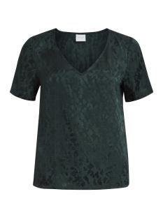 Vila T-shirt VICAY S/S TOP 14043769 Pine Grove