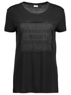 Jacqueline de Yong T-shirt JDYBALL S/S PRINT TOP JRS 15140317 Black