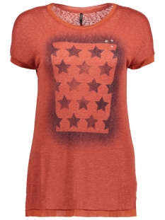 Only T-shirt onlRILEY S/S STARS/FLAG TOP BOX ESS 15142759 Bossa Nova/STARS