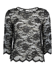 Jacqueline de Yong T-shirt JDYADRIANA 3/4 TOP JRS 15137054 Black