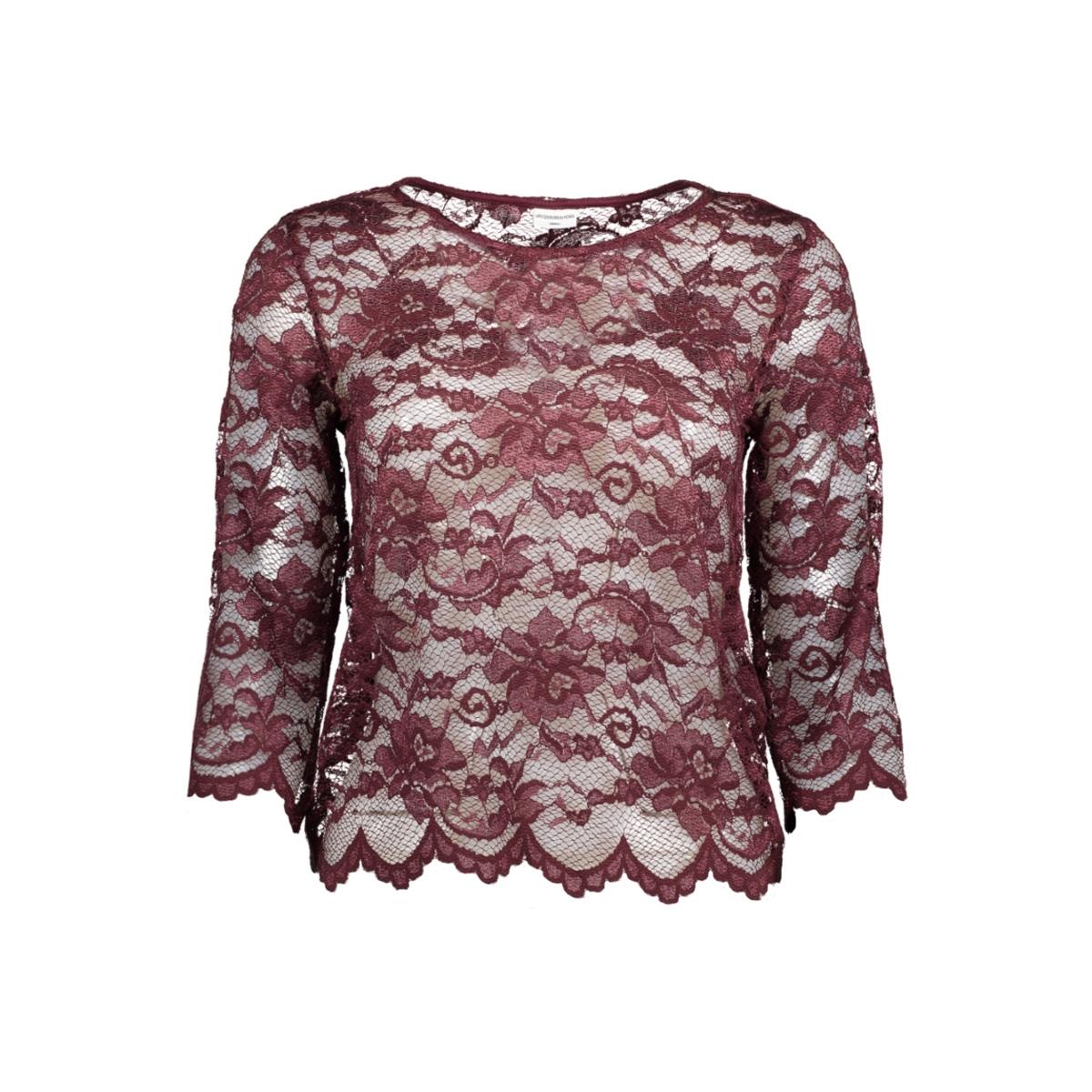 jdyadriana 3/4 top jrs 15137054 jacqueline de yong t-shirt vineyard wine