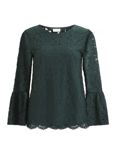 Vila T-shirt VICARY 3/4 BELL SLEEVE TOP/DC 14043205 Pine Grove