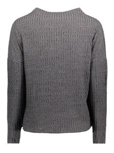 jdymei l/s high neck pullover jrs 15133648 jacqueline de yong trui dark grey melange