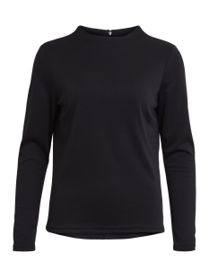 Vila Trui VIFAUNAS L/S HIGH NECK TOP-NOOS 14044068 Black