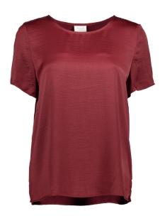 Vila T-shirt VICAVA S/S TOP-FAV 14043504 Cabernet