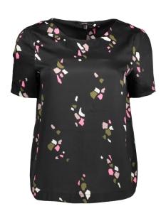 Vero Moda T-shirt VMKARMA LAGRAFIQUE SS MIDI TOP D2-7 10188213 Black/ LA