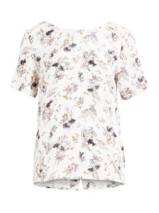 vibeth s/s top 14044685 vila blouse cloud dancer