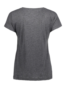 onltruly s/s v-neck top ess 15150979 only t-shirt black