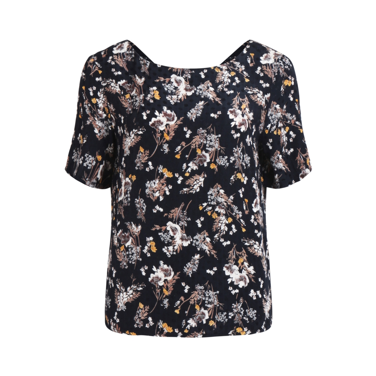 vibeth s/s top 14044685 vila blouse eclipse/flowerprint