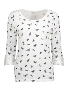 Only T-shirt onlJESS 3/4 BUTTERFLY TOP JRS 15151804 Cloud Dancer