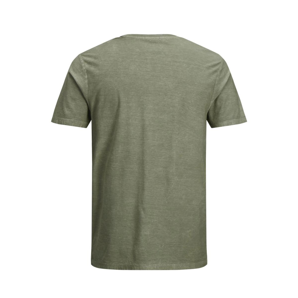 jjvfu clint ss tee 12129241 jack & jones t-shirt covert green