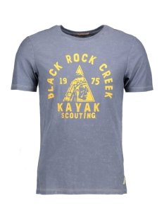 Jack & Jones T-shirt JJVFU CLINT SS TEE 12129241 Ombre Blue