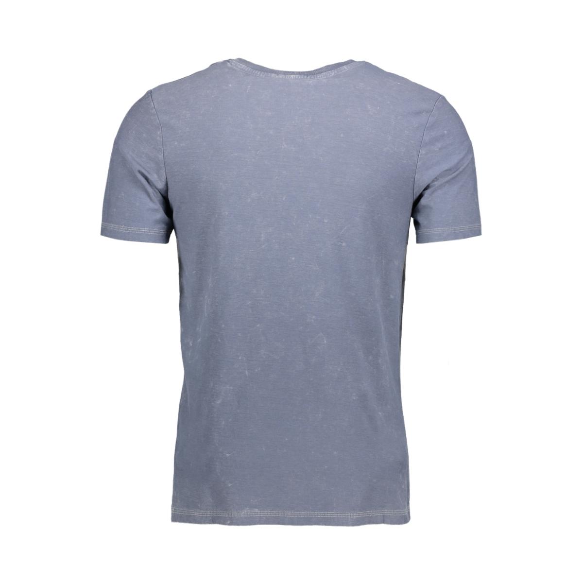 jjvfu clint ss tee 12129241 jack & jones t-shirt ombre blue