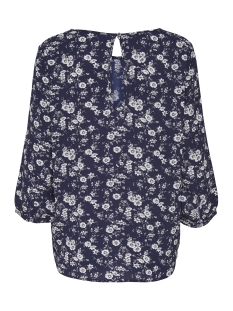 jdydaya 3/4 aop blouse 15146656 jacqueline de yong blouse dark navy/daya