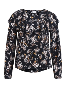 Vila Blouse VIBETH L/S TOP 14044683 Total Eclipse/Flower