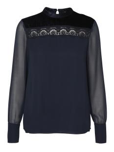 Vero Moda Blouse VMELIZA L/S TOP 10186274 Navy Blazer