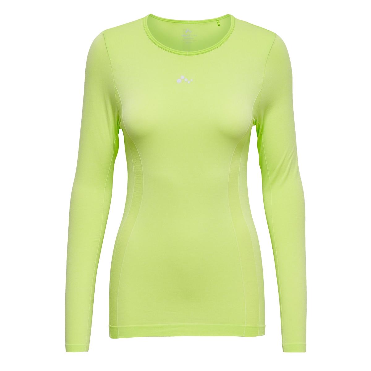 onpstaci run seamless ls tee 15133831 only play sport shirt sharp green