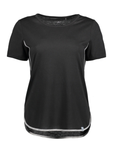 Only Play Sport shirt onpNANNA SS TEE 15135116 Black/Black Mela