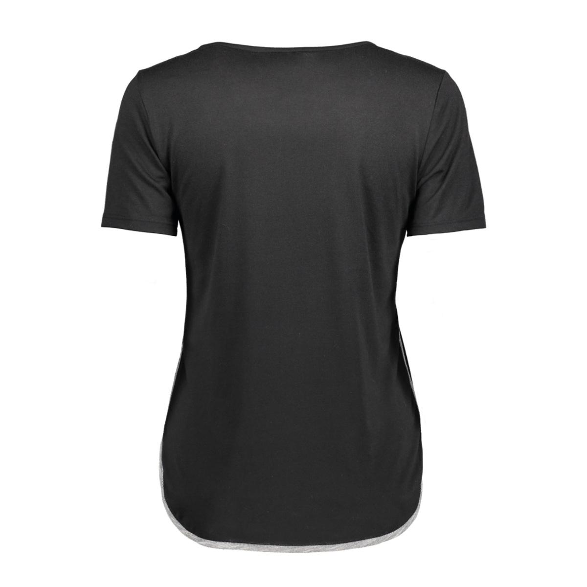 onpnanna ss tee 15135116 only play sport shirt black/black mela