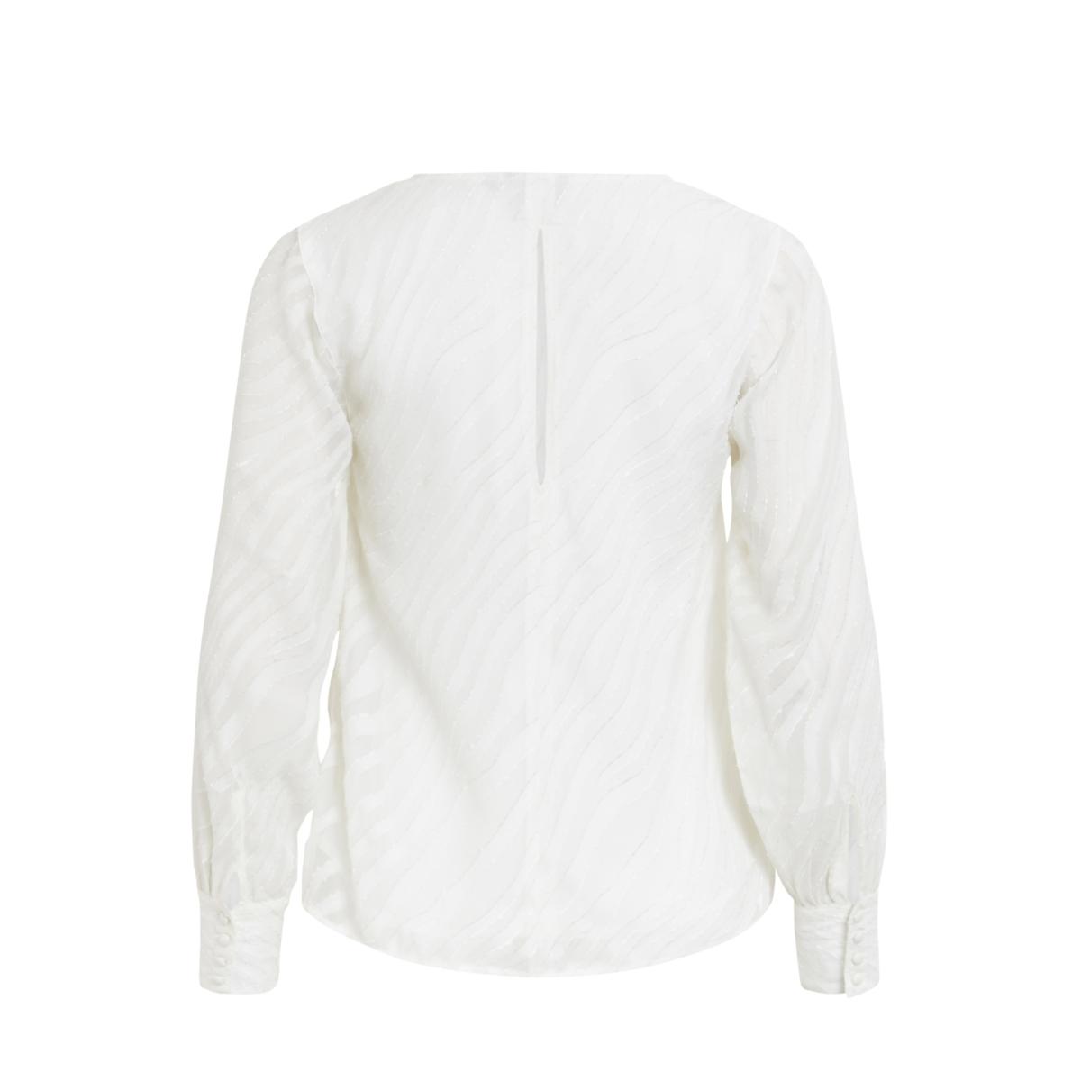 objgabrielle l/s top 94 23025617 object blouse gardenia
