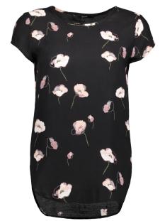 Vero Moda T-shirt VMBOCA SS BLOUSE MULTI PRINTED 10132802 Black/Mia Print