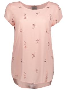 Vero Moda T-shirt VMBOCA SS BLOUSE FOIL AOP PRINT 10178397 Rose Cloud/Fiona Pri