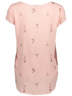 vmboca ss blouse foil aop print 10178397 vero moda t-shirt rose cloud/fiona pri