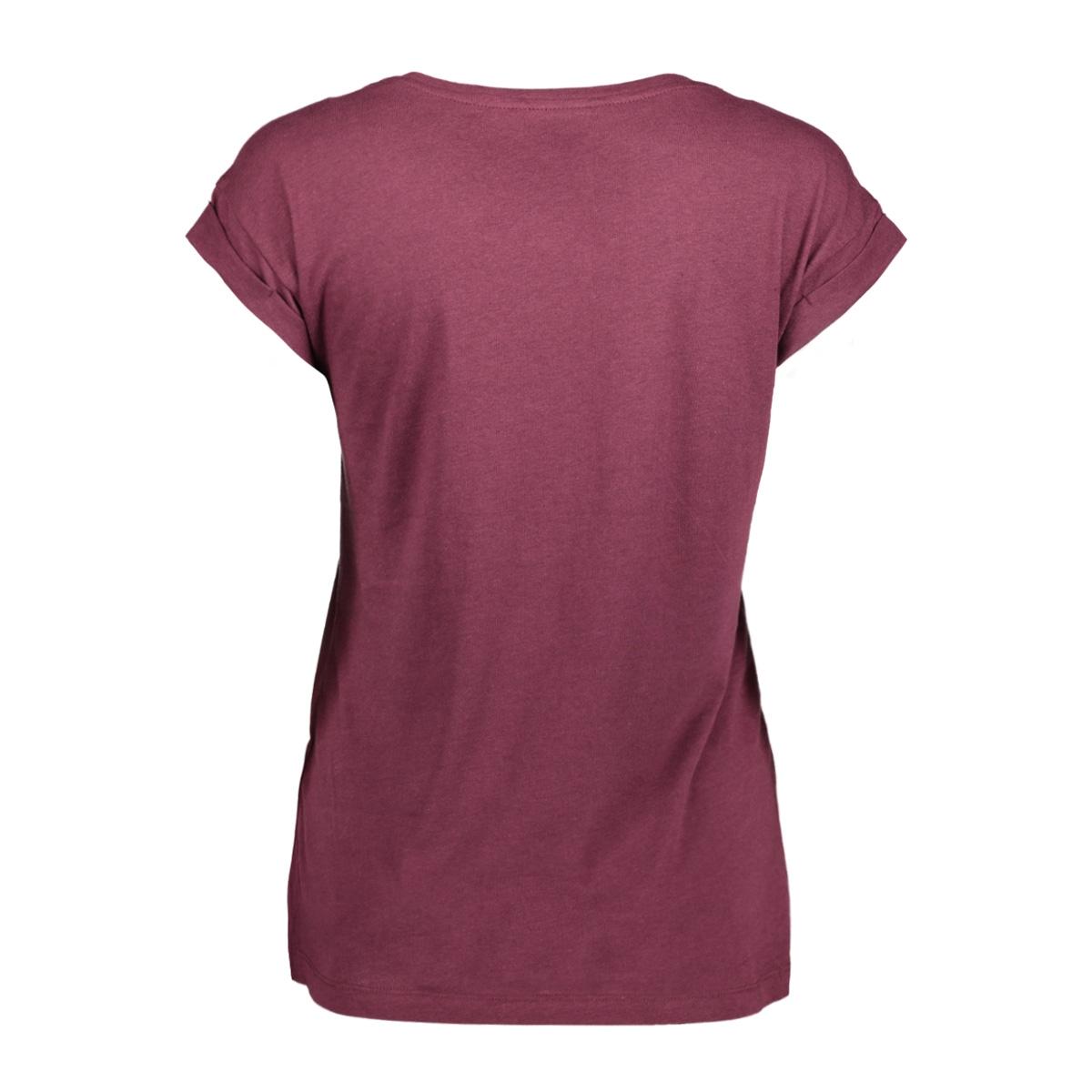 onlvelvet detailed s/s top jrs box 15142633 only t-shirt port royale/blah blah