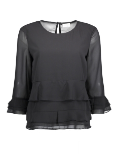 Vila Blouse VIRICHIE 3/4 SLEEVE TOP/TB 14044221 Black