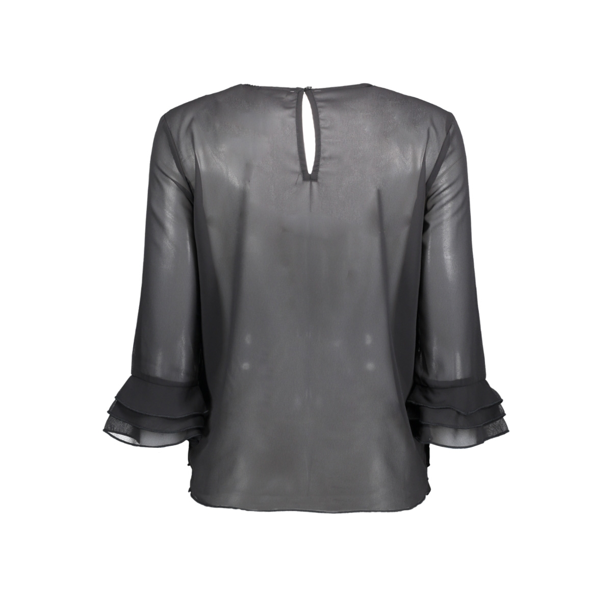 virichie 3/4 sleeve top/tb 14044221 vila blouse black